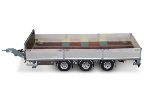 Ballast drawbar trailer