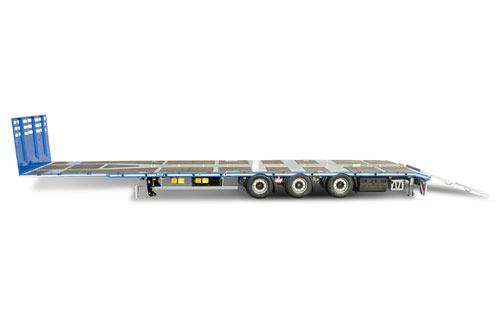 Semi remorque Mega trailer