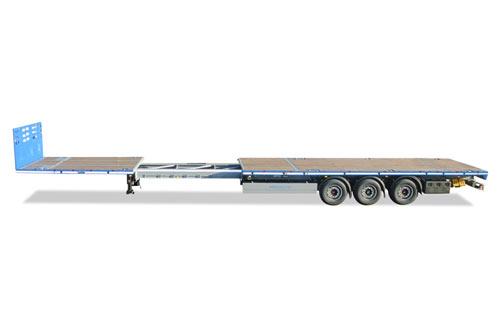Vlakke trailer