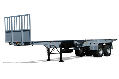 Container chassis / sideloader