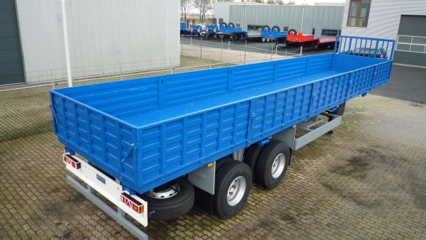 50 TONS HEAVY DUTY FLATBED TRAILER