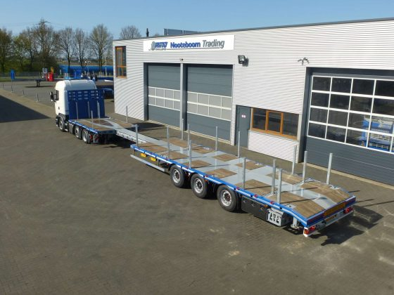 RINO® 3AXLE MEGA MACHINE TRAILER // EXTENDABLE // SUPERLIGHT // PAYLOAD 36,6 TON