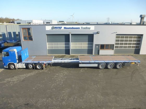 RINO® 3-AXLE TELETRAILER // EXTENDABLE // SUPERLIGHT // PAYLOAD 37 TON