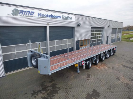 BALLAST TRAILER  5 AXLES // 4 STEERED // GVW 75 TON