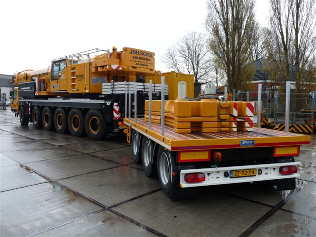 BALLAST TRAILER // 3 AXLE // TO BE USED WITH MOBILE CRANE // APPR. 19.5 TONS PAYLOAD