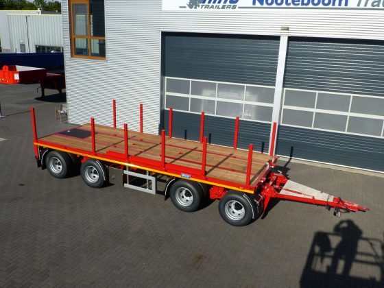 4 AXLE DRAWBAR TRAILER // SUITABLE FOR BALLAST TRANSPORT FOR CRANES