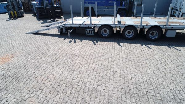 3AXLE MEGA LOWBED TRAILER // EXTENDABLE // SUPERLIGHT // PAYLOAD 36,6 TON