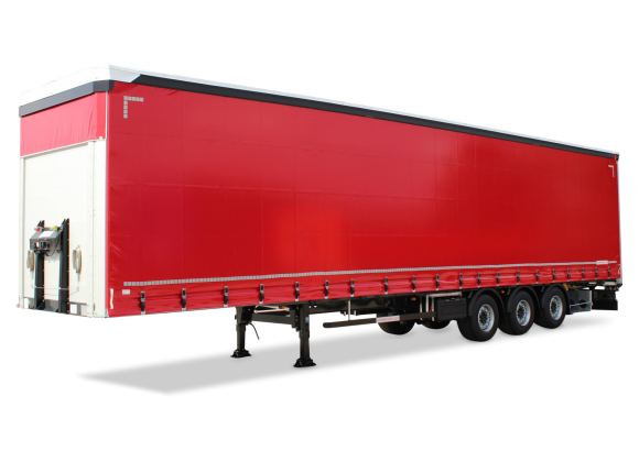 3-axle large-scale ultralight sliding tarpaulin platform semitrailer