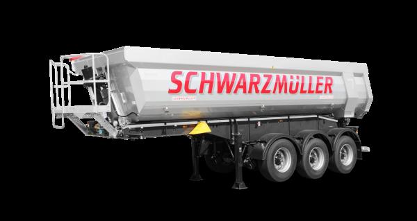 3-axle steel segment tipper semitrailer