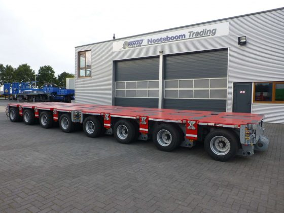 NEW GOLDHOFER THP/SL4 MODULAR AXLE LINES, 166 TON PAYLOAD, ALSO LOOK AT OUR REF 110239/110240