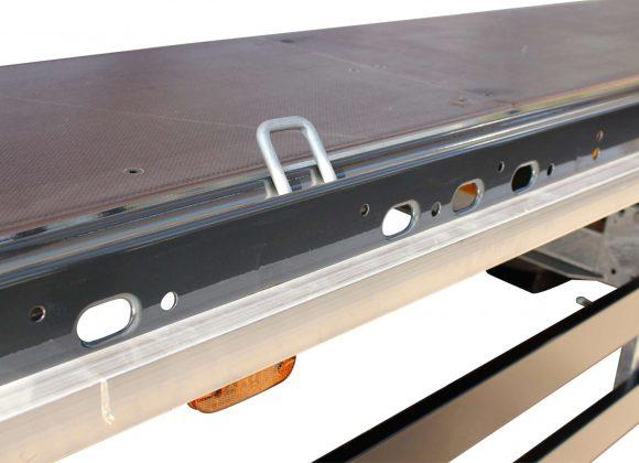 3-axle large-scale sliding tarpaulin platform semitrailer - coil