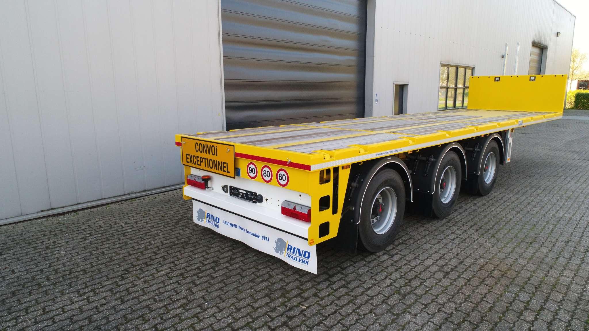 Ballast trailer 3 assen 2 gestuurd 40 ton laadvermogen