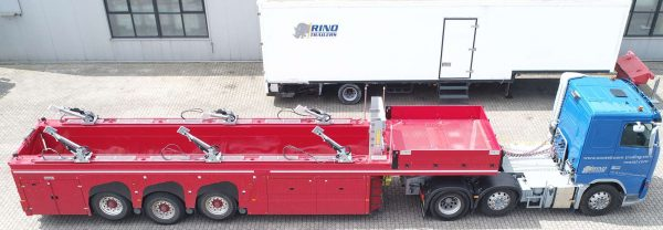 as new innenloader 3 axle/ deathweight 8900kg