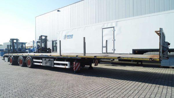 3 assige mega trailer // uitschuifbaar// 40 ton laadvermogen