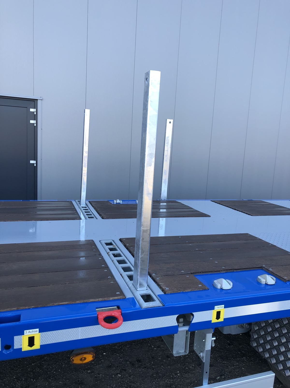 Rino® 3-assige mega machine trailer | uitschuifbaar | super licht | laadvermogen 36,6 ton