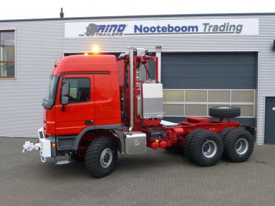 Mercedes Benz lourde tête d'tracteur 6x6 350 tonnes en plus, push-pull, stock disponible