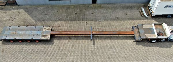 4 AXLE LOWBED // EXTENDABLE TILL 21.5 MTR // PAYLOAD 46 TON