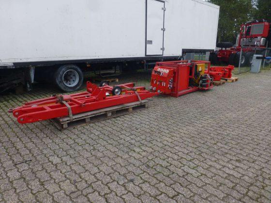 Afneembare bedieningskast voor bediening van het hydraulische stuur- en veersysteem