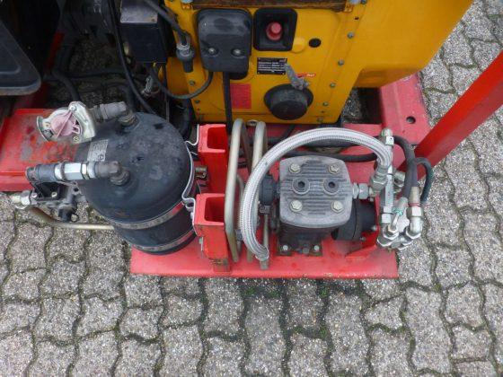 Moterpompunit Hatz-diesel 24V, 280 bar, met luchtcompressor