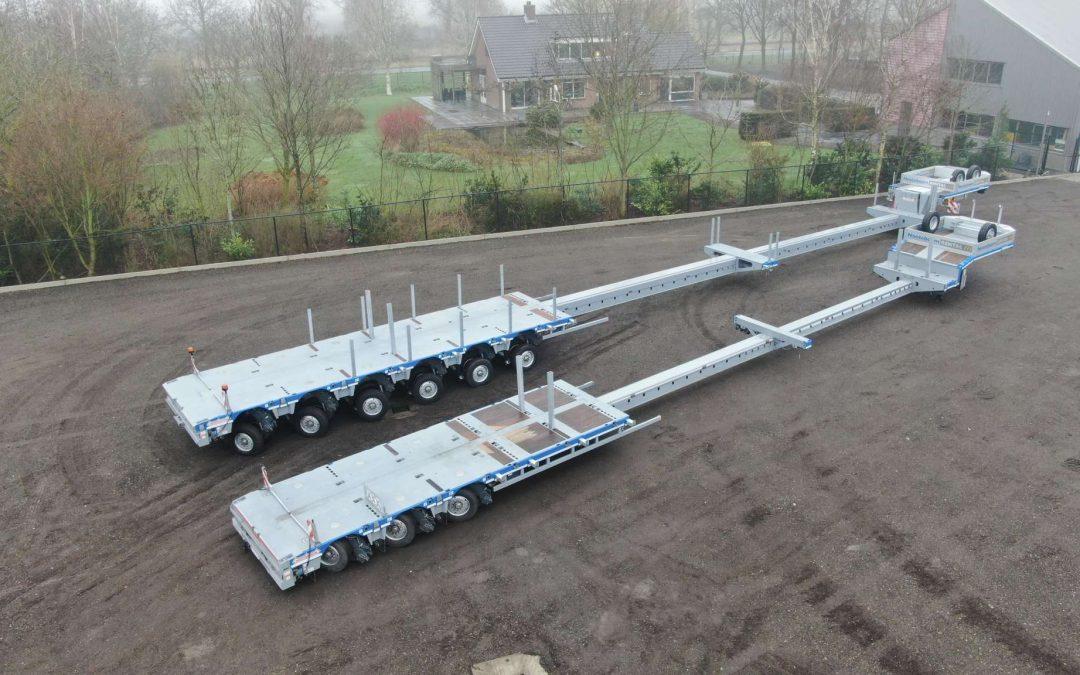 Twee nieuwe semi diepladers in Nooteboom Rental verhuurvloot