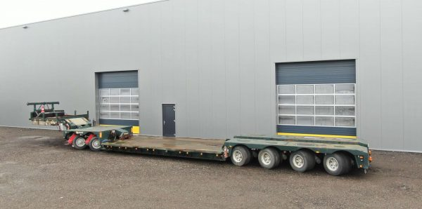 2 bed 4 | 4 axle lowbed incl. 2 axle interdolly | payload 66 ton