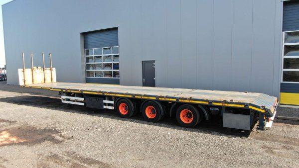 3 Axle mega trailer | extendable till 20,5 m | payload 37,1 ton